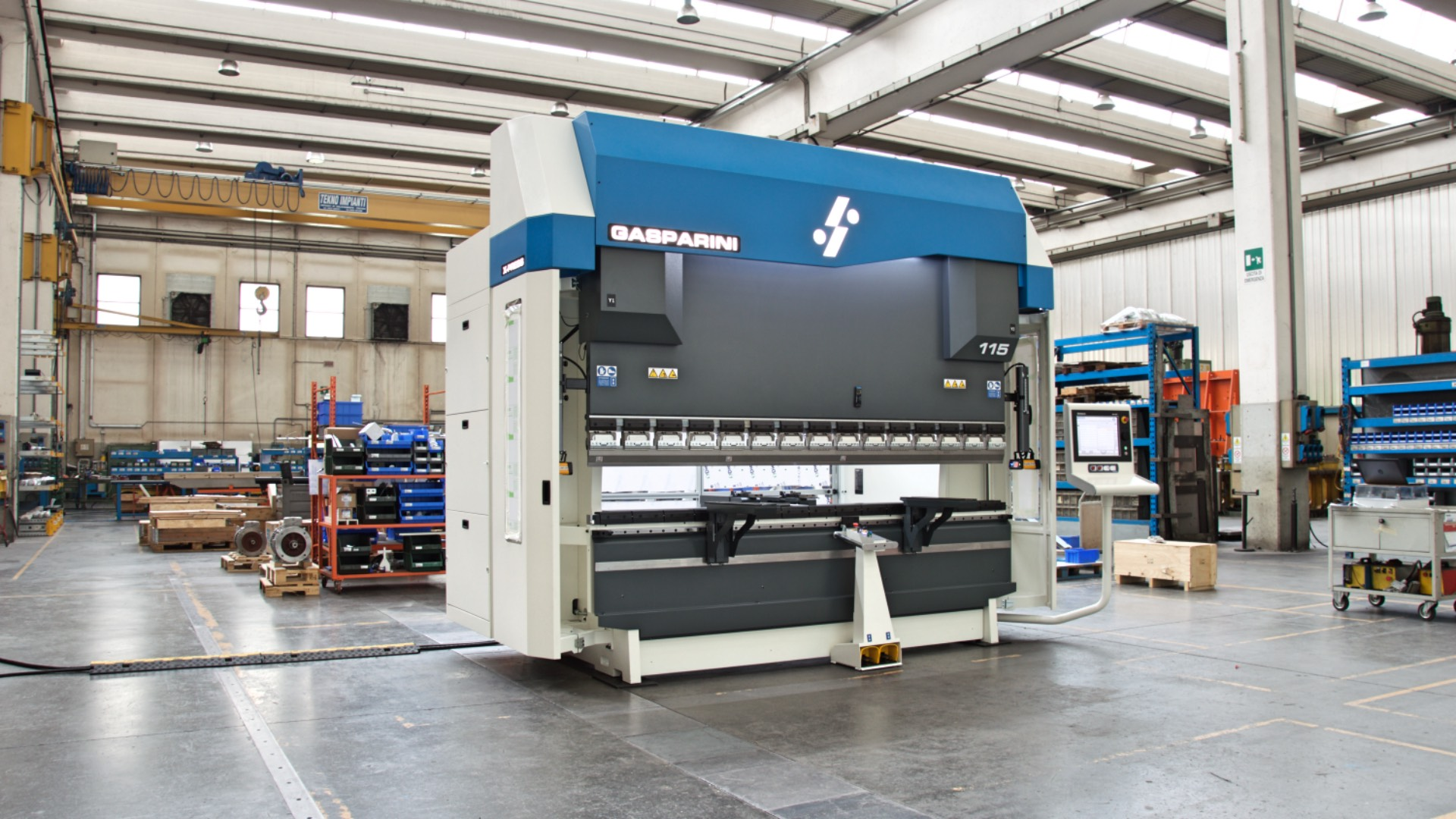122 inches 100 tons press brake