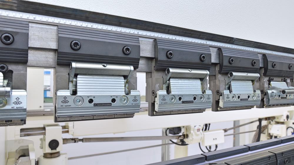 amarres manuales palanca prensa plegadora