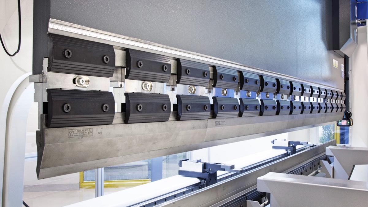 amarres manuales para utillaje de prensa plegadora
