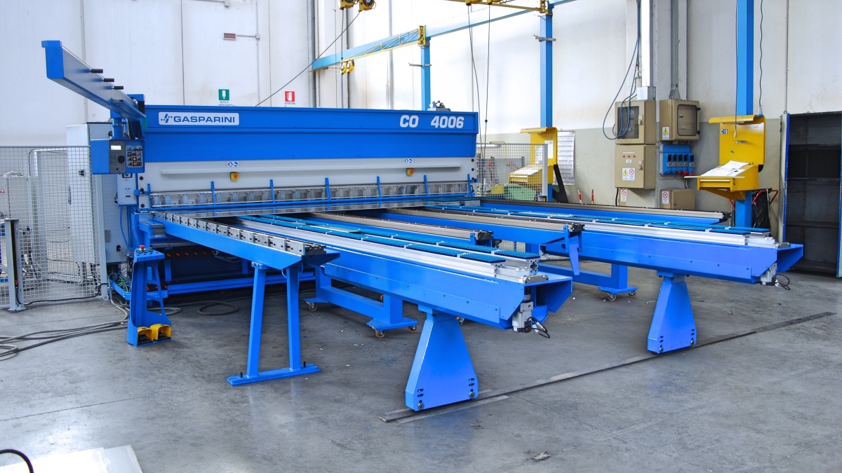 automated cutting and shearing lines