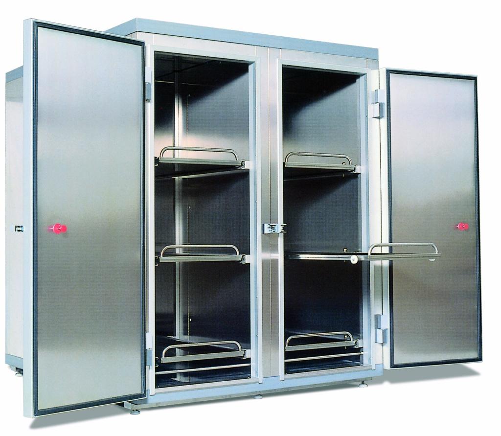 cella frigorifera per ristorazione in lamiera inox