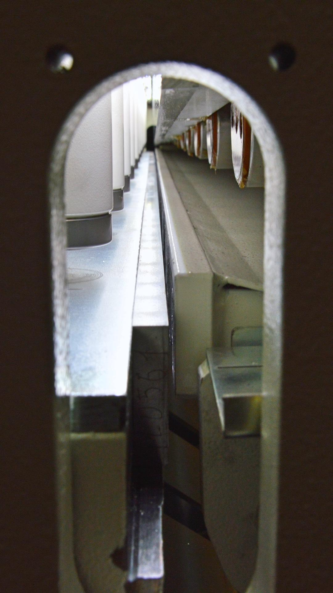 cesoia ghigliottina lame registro posteriore premilamiera