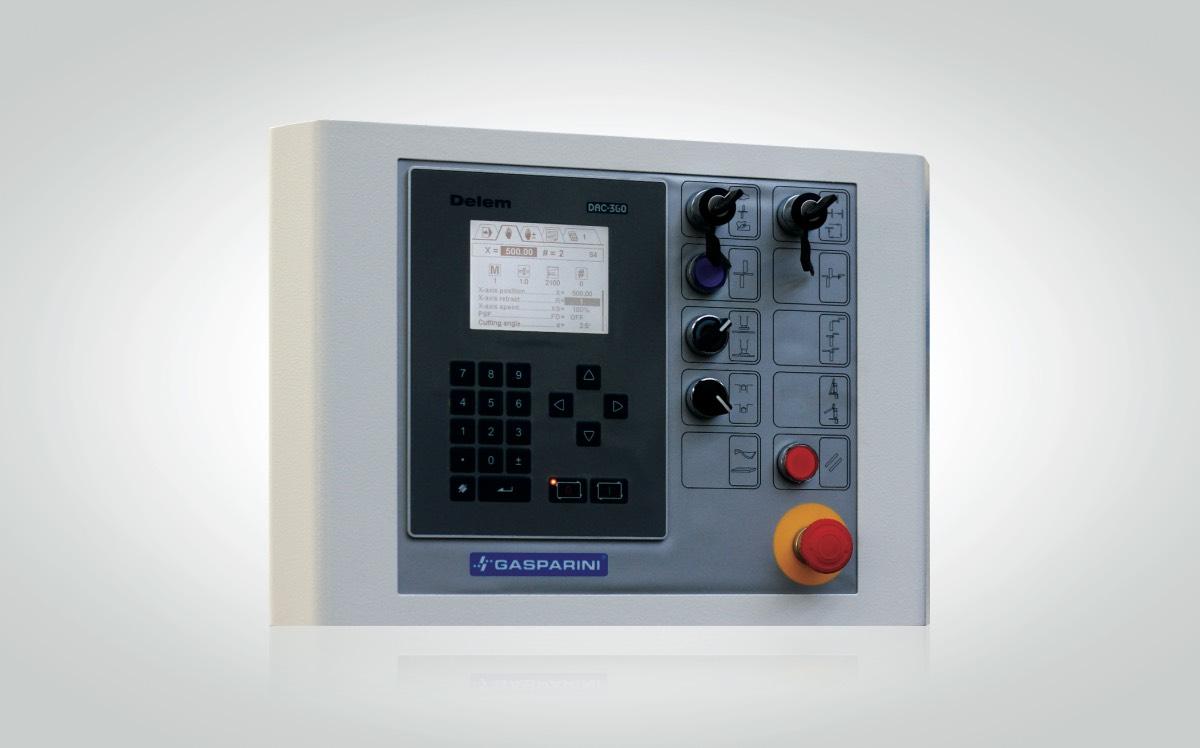 CNC Delem DAC 360 per cesoie a ghigliottina