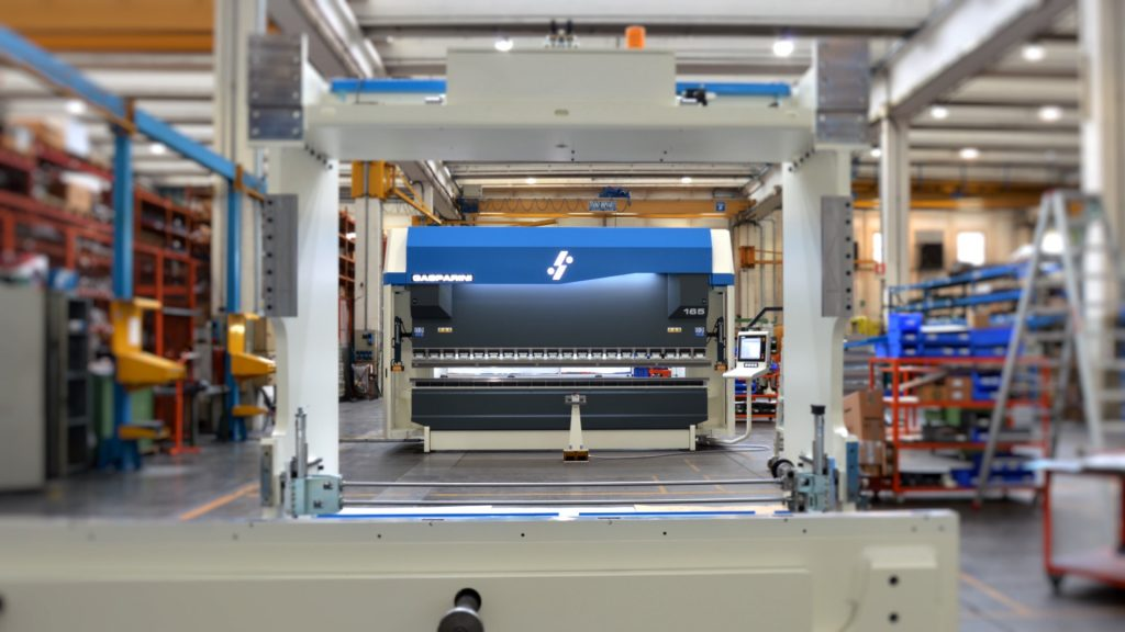 Sorgato Dust Collection Systems Chooses A 165 Ton 4000 Mm