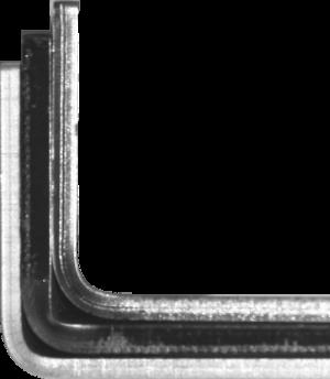 compensare il ritorno elastico dell'acciaio