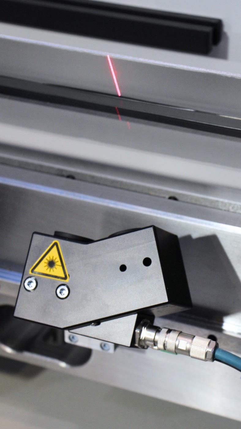 controllo dell'angolo laser check per pressa piegatrice