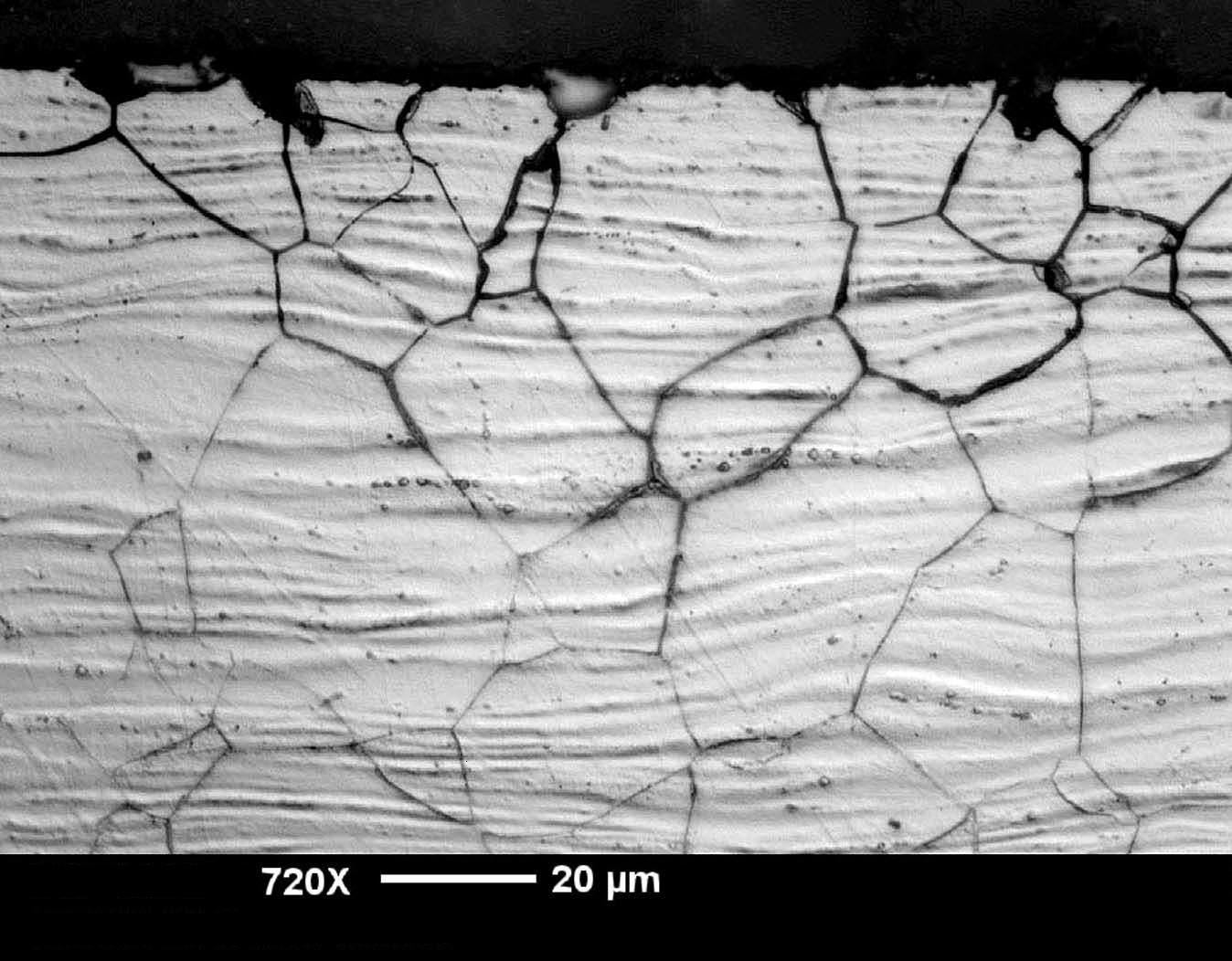 corrosion intergranular precipitacion carburos cromo