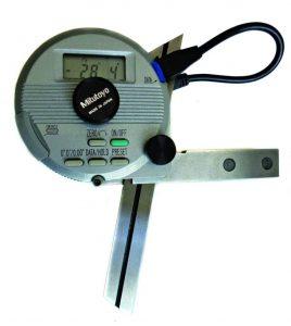 goniometro digitale per pressa piegatrice