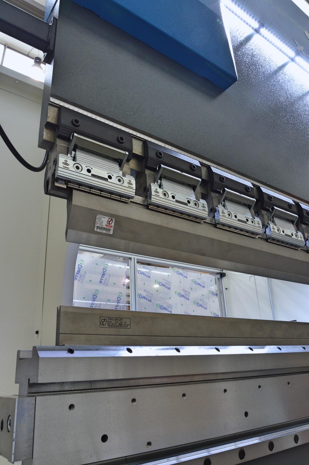 hemming bench tool clamping press brake