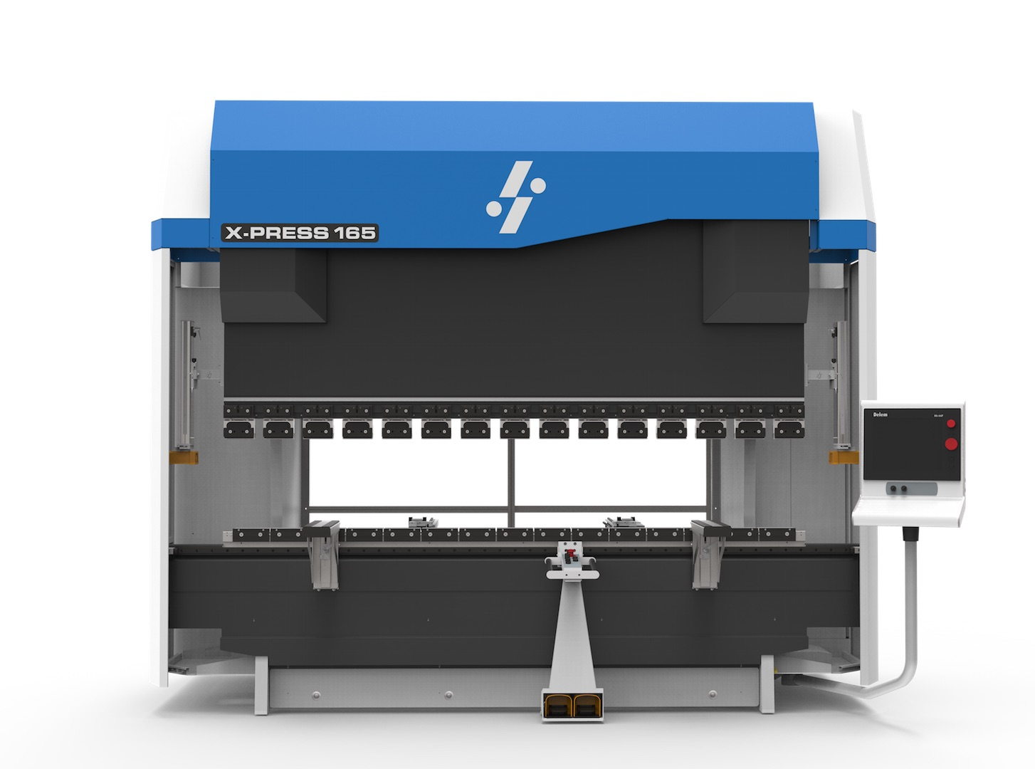 hybrid electric hydraulic press brake