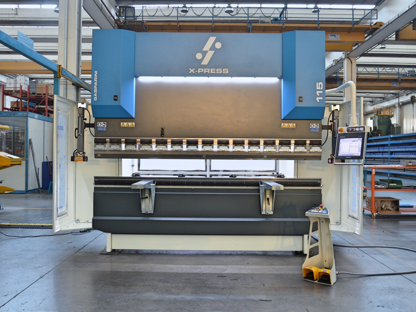 hydraulic 100 ton new press brake cost