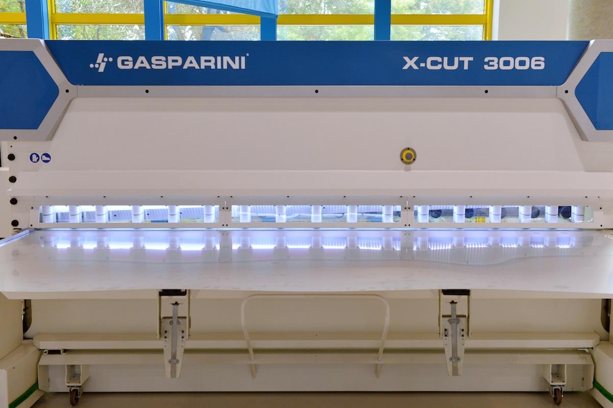 cizalla de guillotina con iluminación LED de la chapa