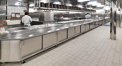 impianti ristorazione lamiera piegata inox