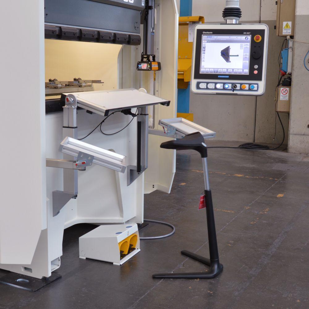in stock hydraulic pressbrake