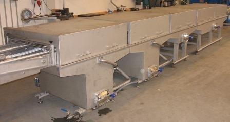 klovborg linee confezionamento acciaio inossidabile lamiera 4