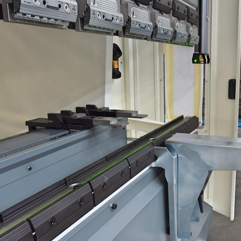 laser tracer bending line sheet metal