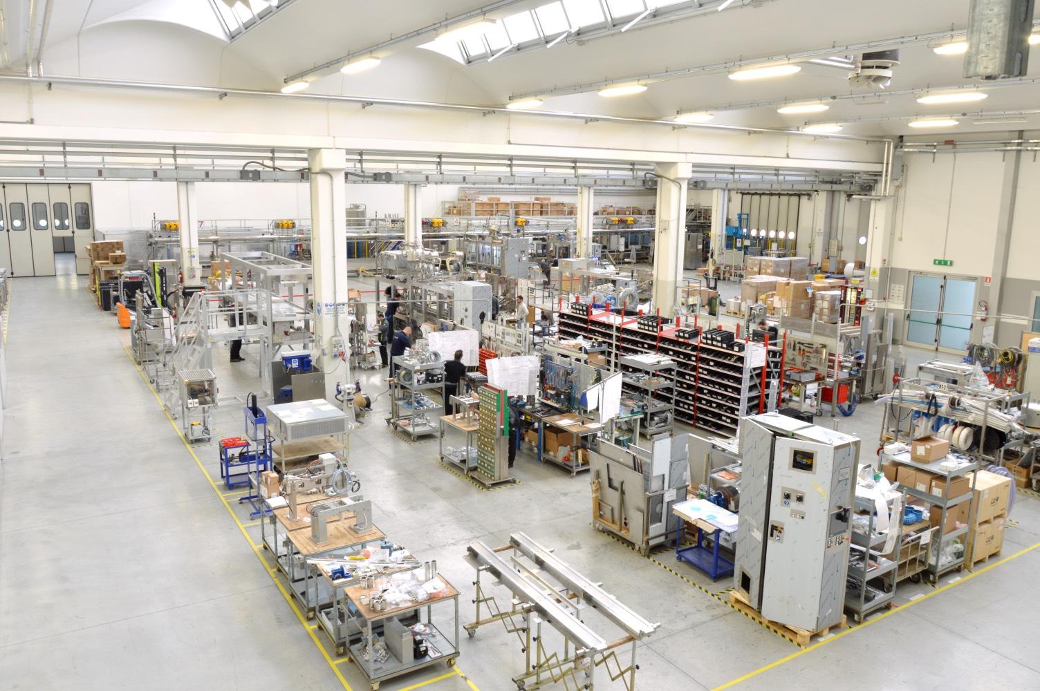macchinari lavorazione lamiera impianti confezionamento