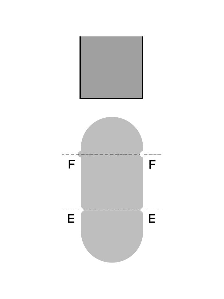 mark bending axis reliefs notches backgauge