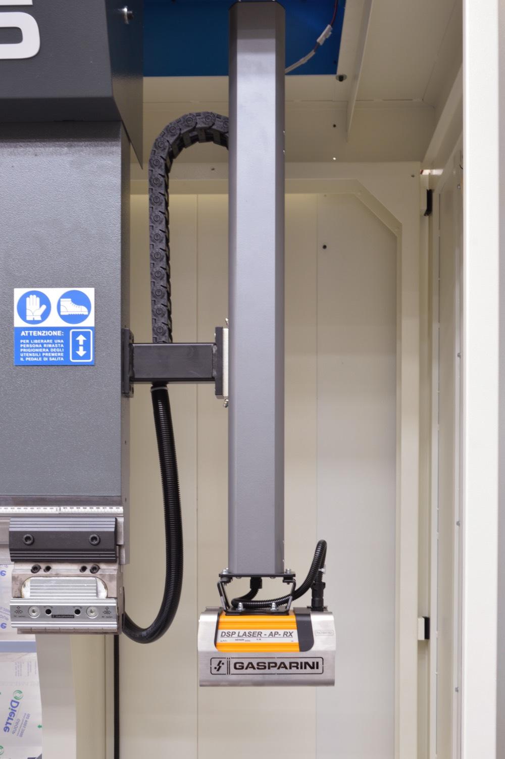 motorized safety laser press brake