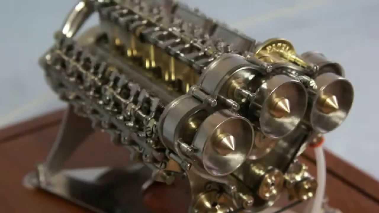 patelo modello motore v16