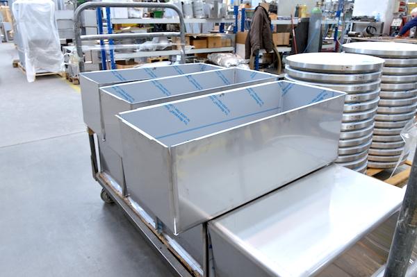 piegare scatolati vasche profonde lamiera