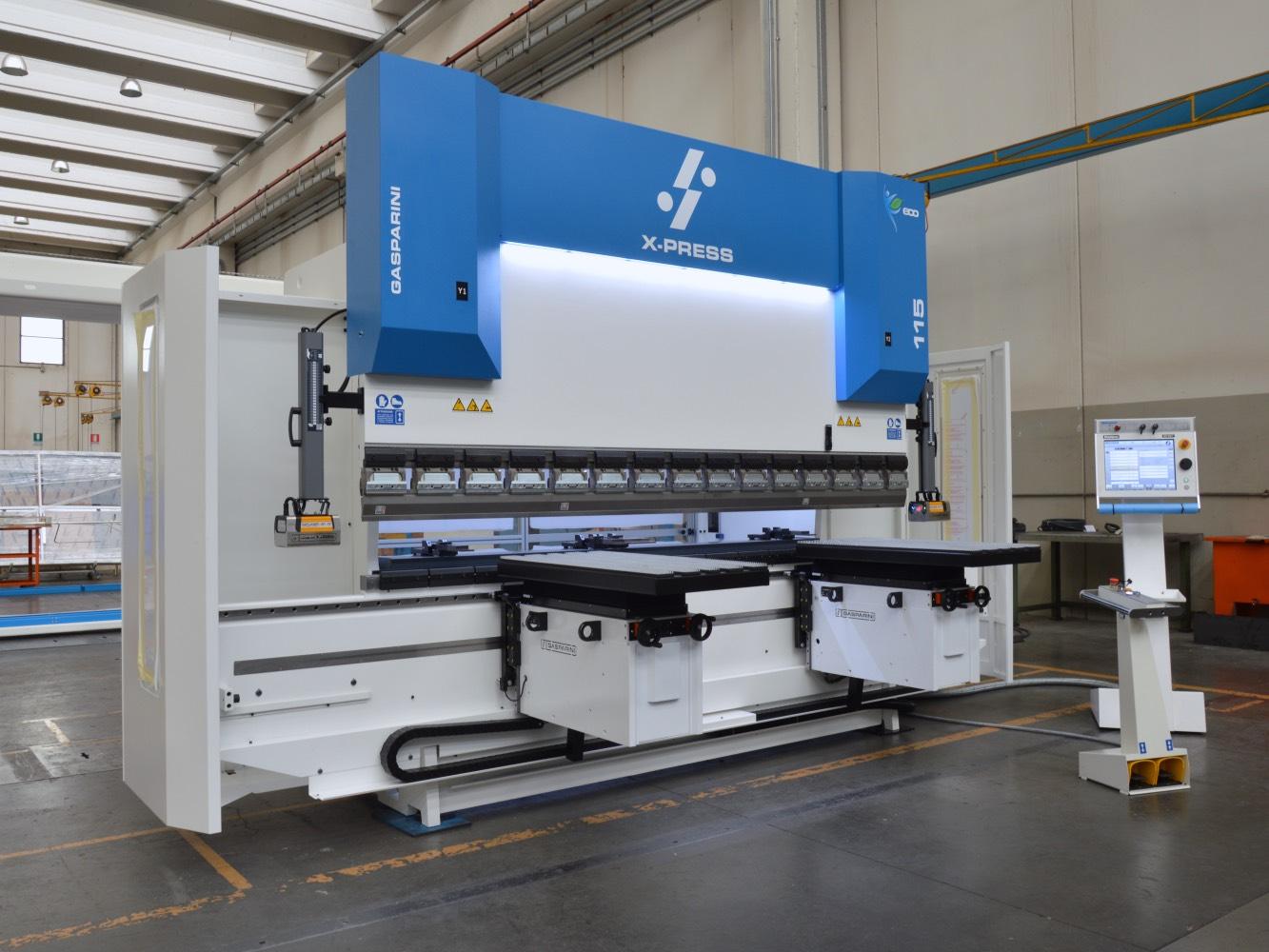 prensa plegadora 115 ton levantadores