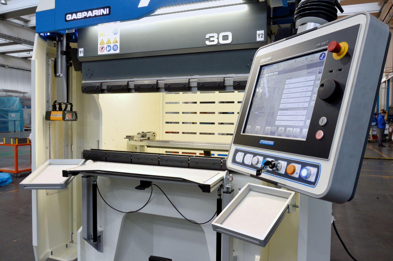 prensa plegadora cnc industria 4.0 fábrica inteligente