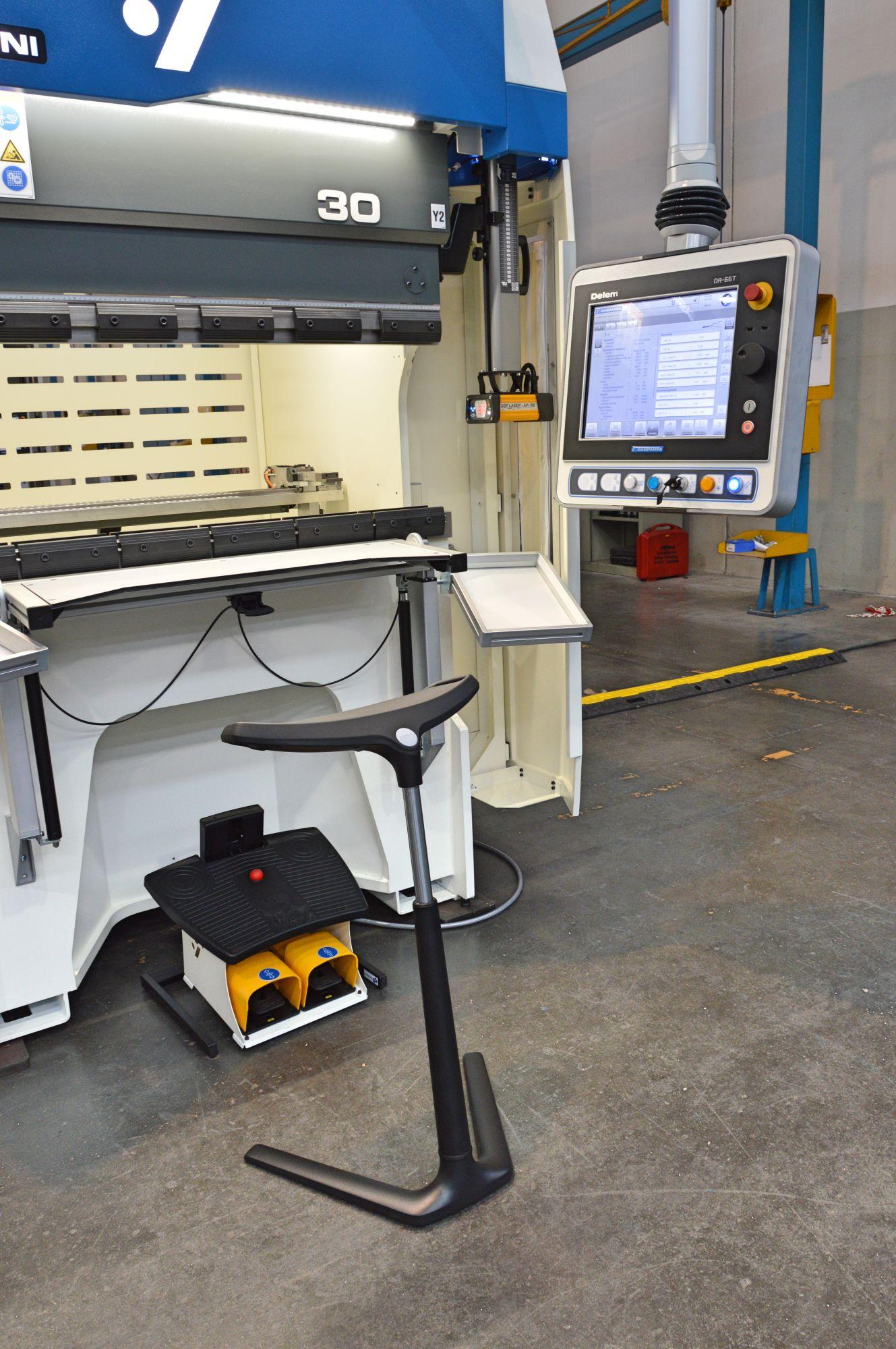 prensa plegadora ergonómica grandes lotes cantidades