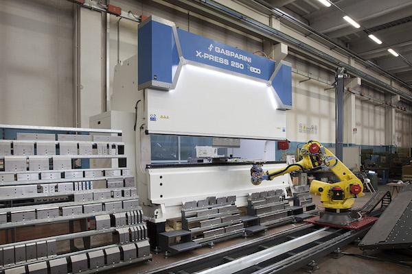 prensa plegadora robotizada automatica rentable
