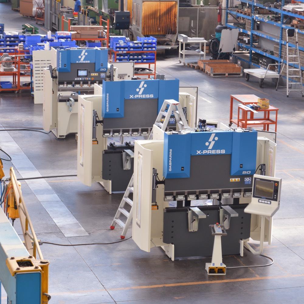prensas plegadoras compactas pequeñas dimensiones