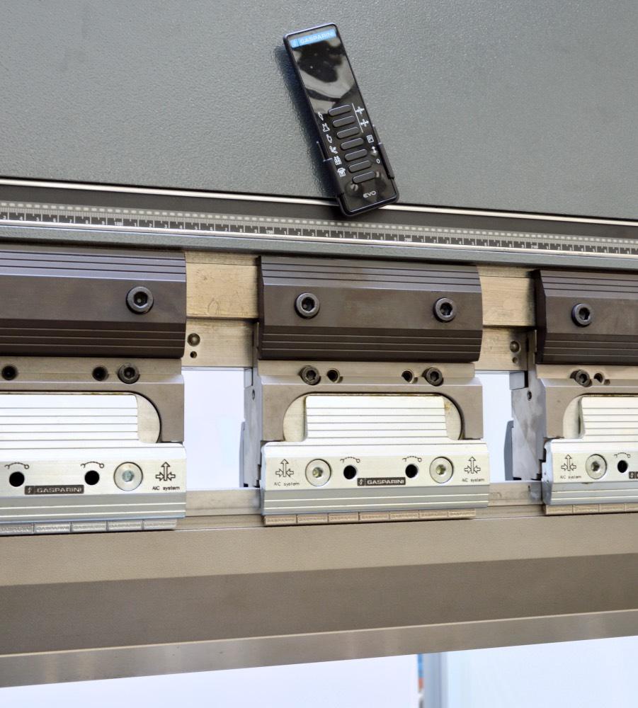 press brake promecam tool clamping