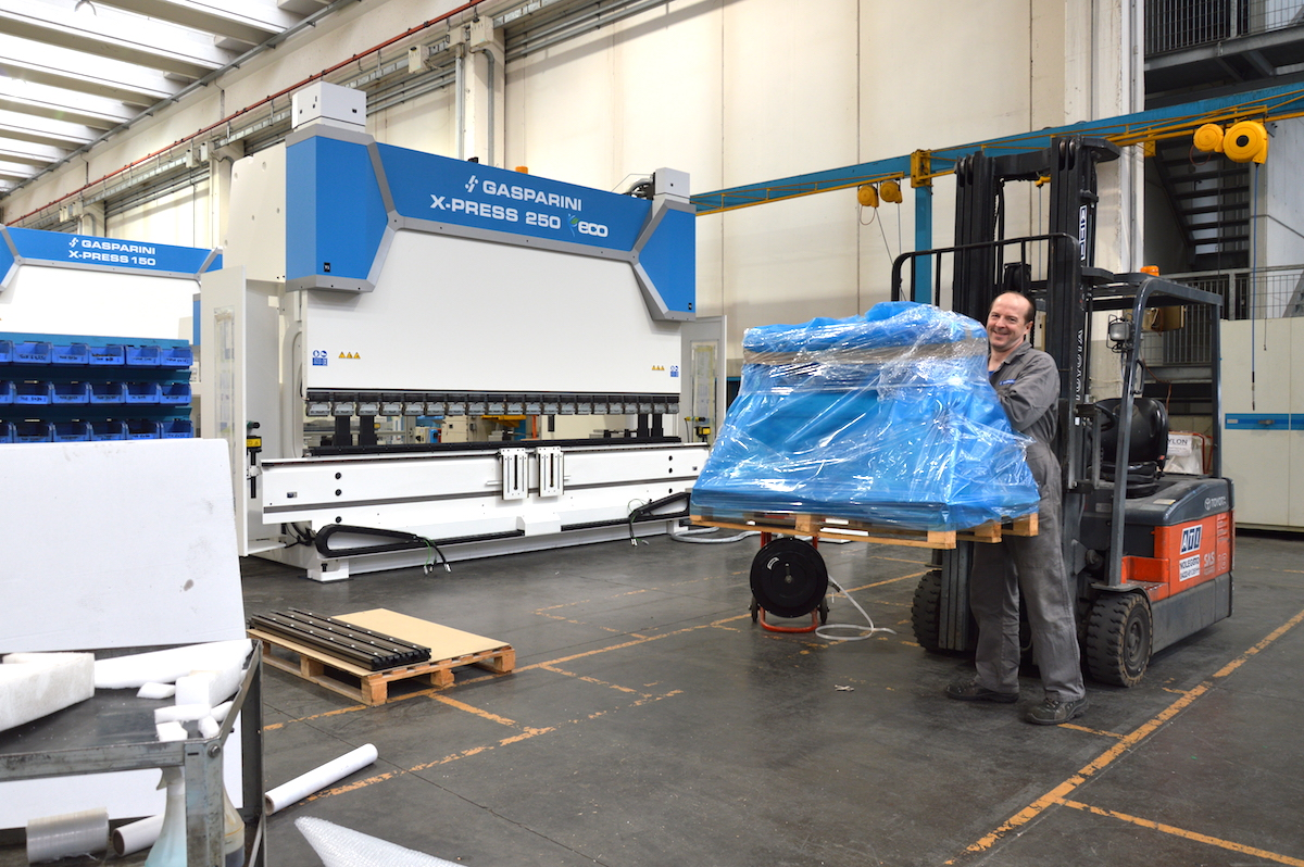 press brake shipping packaging