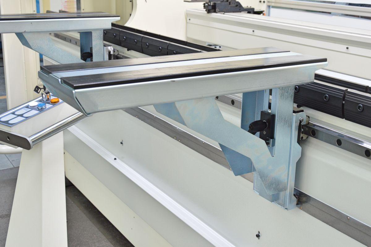 press brake sliding front support drawer