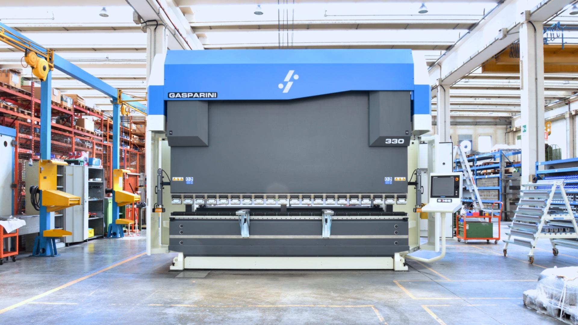 pressa piegatrice 330 tonnellate 4 metri 10 mm acciaio