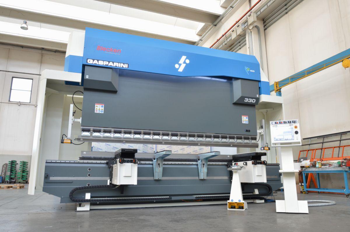 pressa piegatrice idraulica 330 tonnellate 4 metri inverter eco