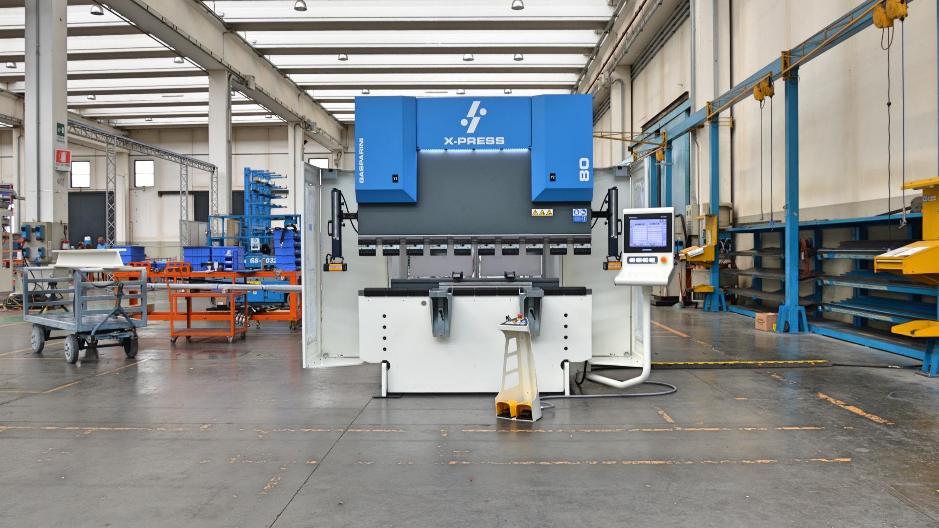 pressa piegatrice idraulica 80 tonnellate 2 metri