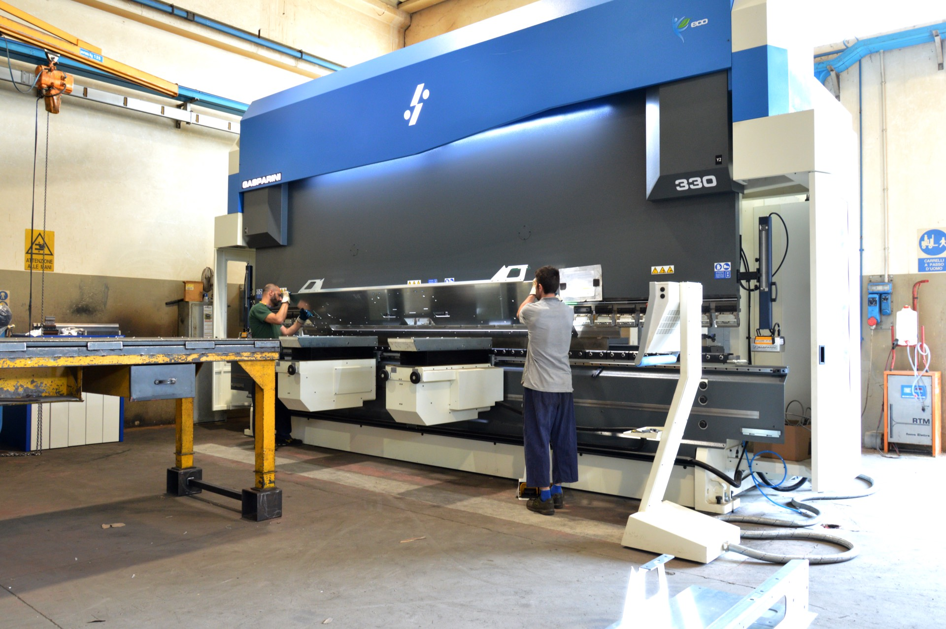 price quote press brake with sheet lifters