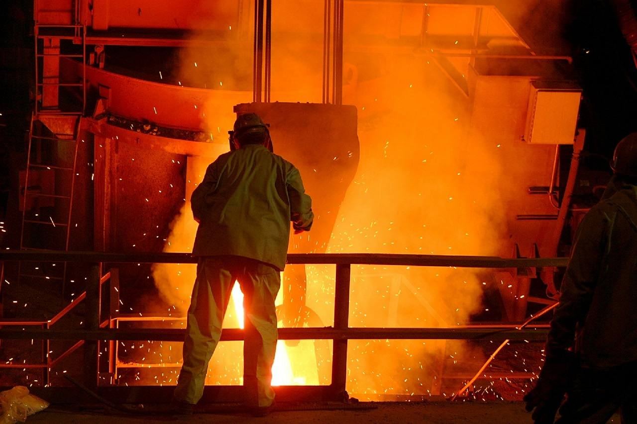 rapporto produzione acciaio 2019