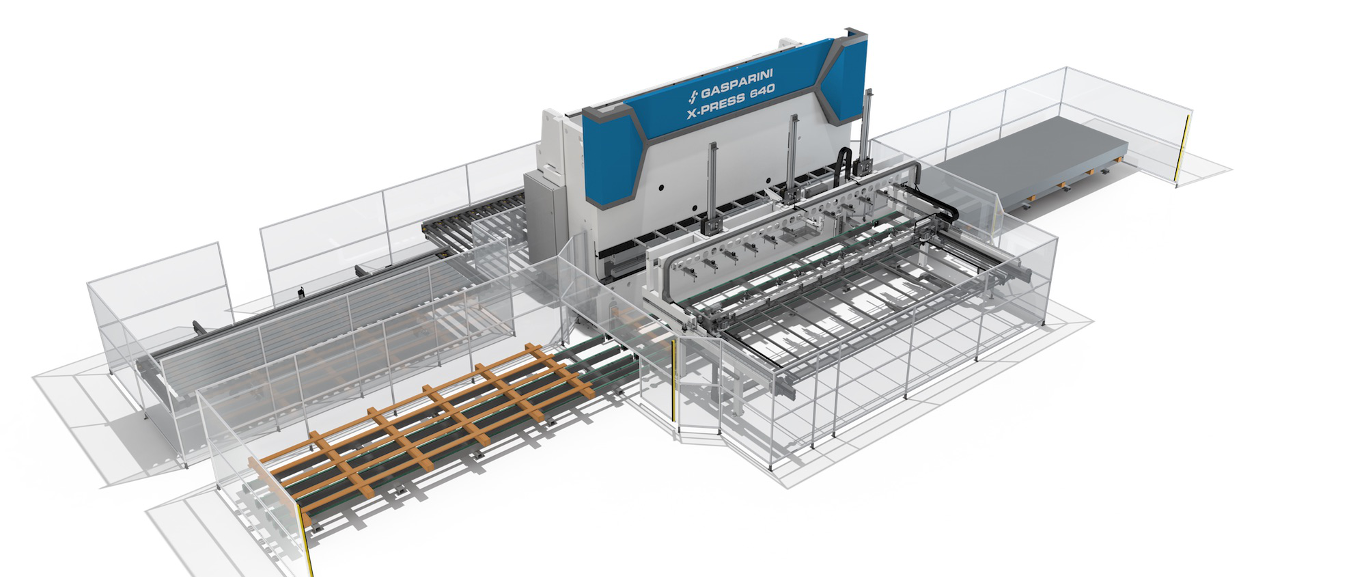 automated sheet metal bending lines