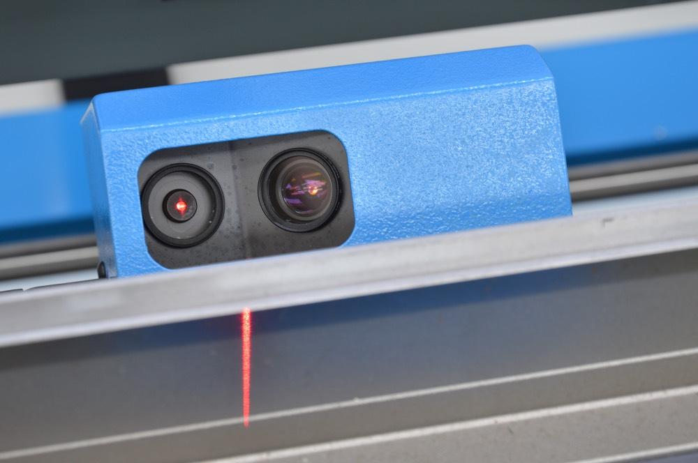 sistema lettura angolo lasercheck lamiera piegatrice