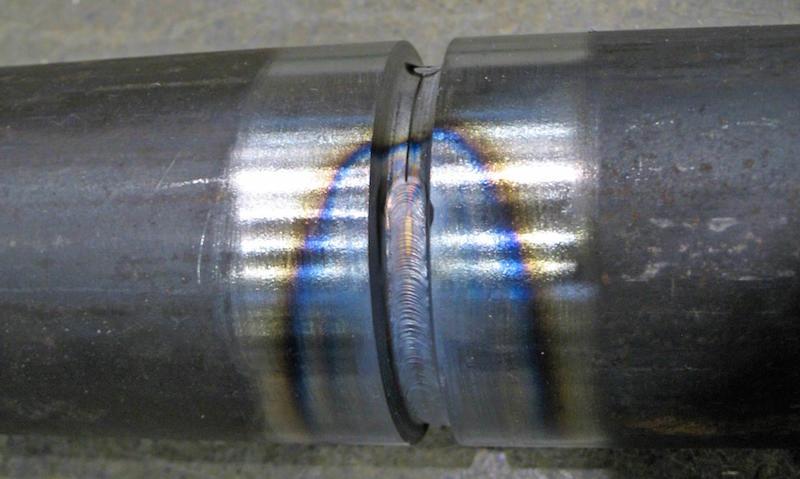 soldadura acero con zona afectada termicamente