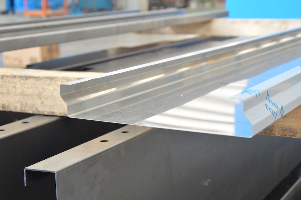 stainless film sheet metal angle control