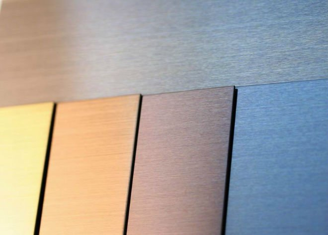 Electrochemical and chemical finishes of stainless steel ...