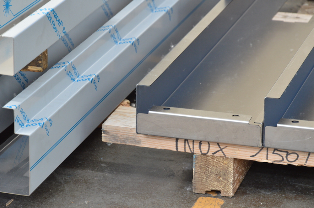 stainless steel press brake angle control
