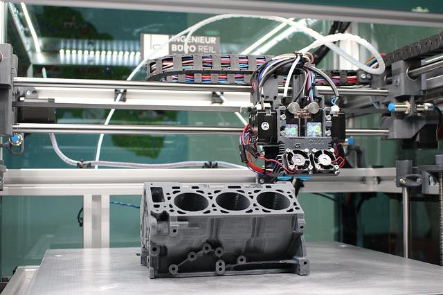 stampa 3D componenti industria
