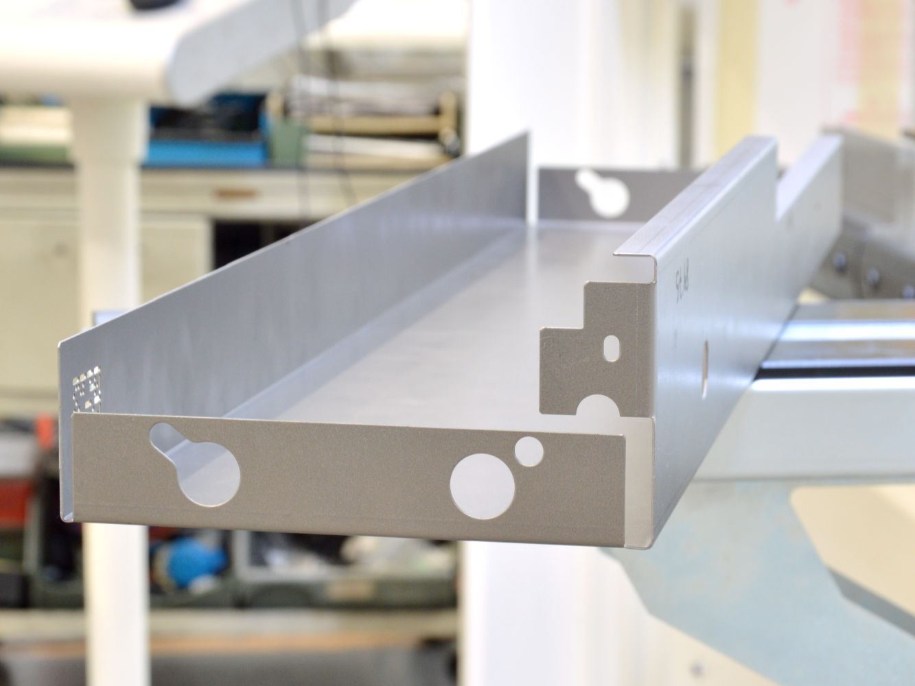 steel sheet metal precision bent part