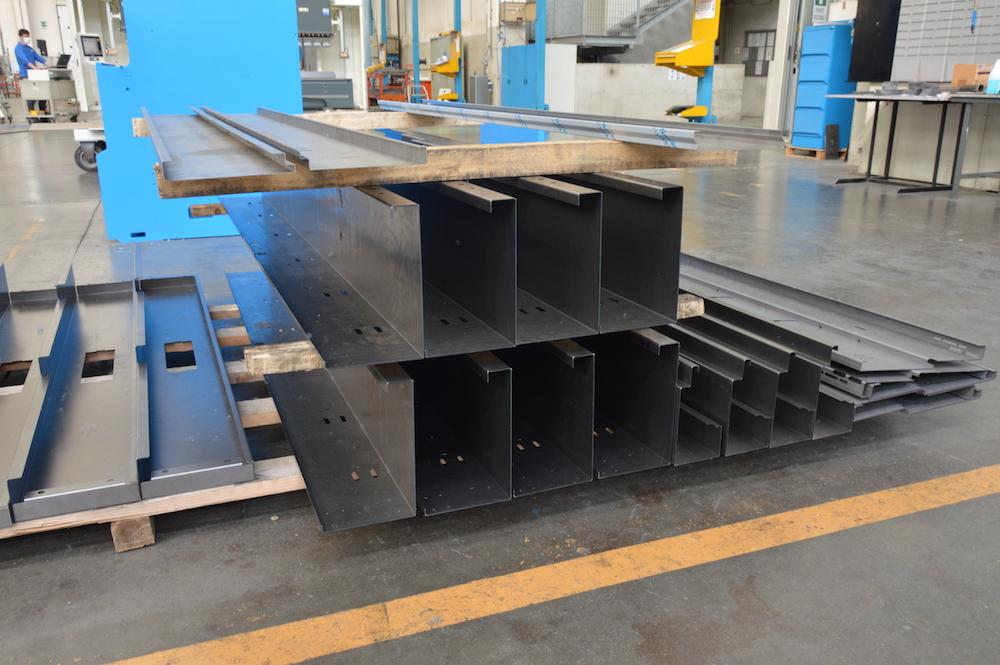 steel sheetmetal angle control