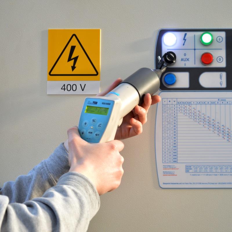 test electric field machine tools