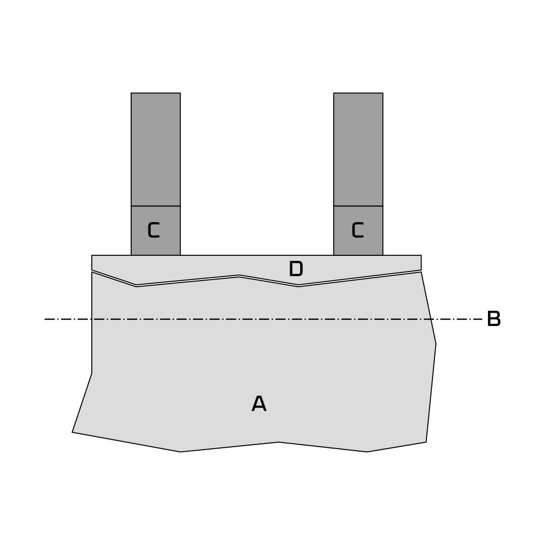 utilizzare sfrido laser appoggio lamiera piegatura registro posteriore