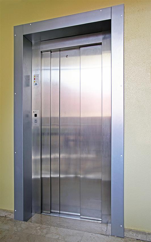 wittur ascensores chapa acero plegada